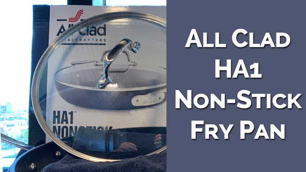 All Clad Ha1 Nonstick 12 Inch Fry Pan With Lid Review Icf